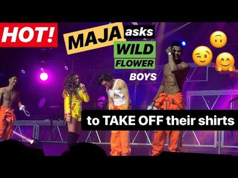 [HOT] MAJA asks the WILDFLOWER Boys to...