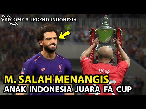 Perjuangan Anak Indonesia Di Final FA CUP | Become A Legend Indonesia | PES 2019