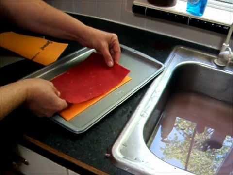 Basic handmade Paper Making