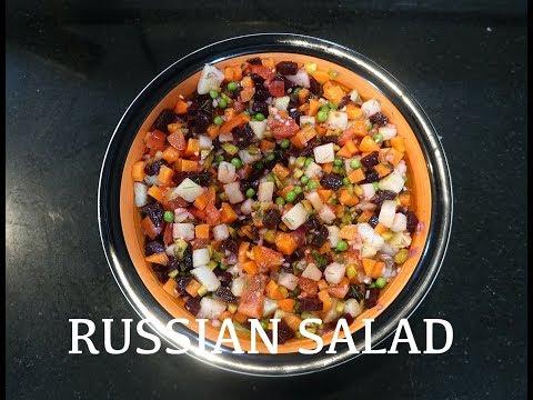 ⏰ Russian Salad - Vegan Russian Salad - Beetroot Salad - Beet Potato Carrot Salad