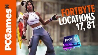 Fortnite Fortbyte guide - Numbers #17 and #81