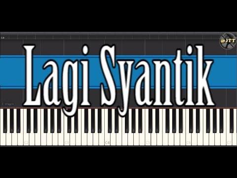 Lagi Syantik - Siti Badriah | Tutorial Singkat Synthesia | Piano Cover | Togo