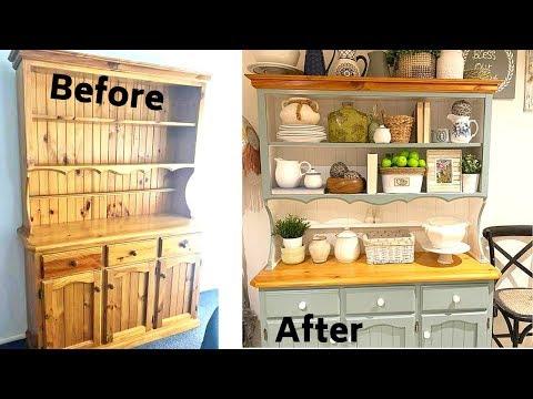 DIY Hutch Makeover | Furniture makeover | Simply Aisha
