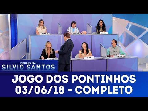 Jogo dos Pontinhos - Completo   Programa Silvio Santos (03/06/18)