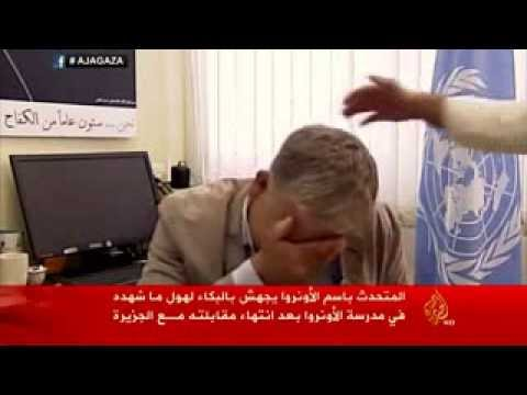 Man has Emotional Breakdown while Reporting on Gaza during live-TV broadcast
