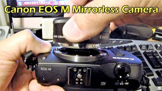 Canon EOS M (with 22 mm lens) Slow Focus