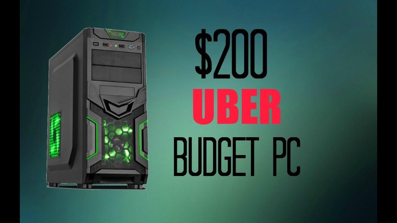 200 Uber Budget Gaming Pc November 2015 Youtube