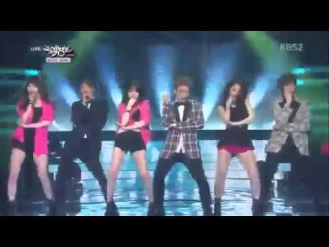 PSY   GENTLEMAN  TEEN TOP,GIRLS DAY   2MC )