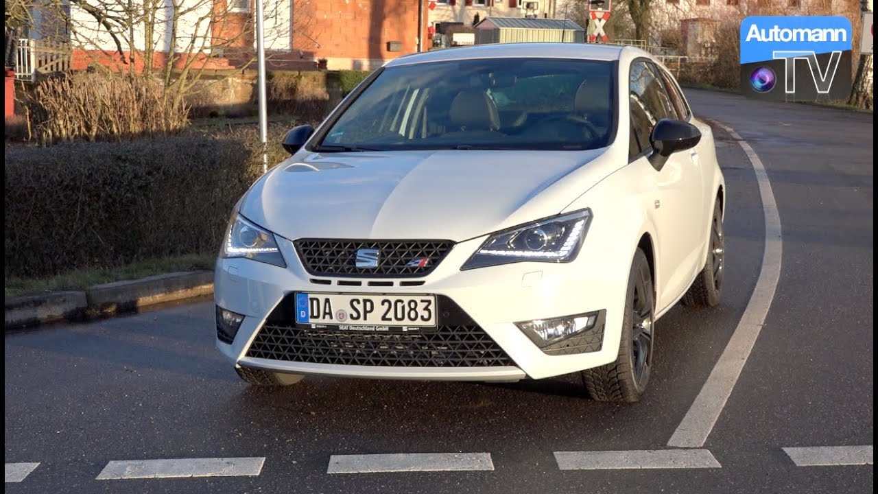 2016 seat ibiza cupra 192hp drive sound 60fps youtube. Black Bedroom Furniture Sets. Home Design Ideas