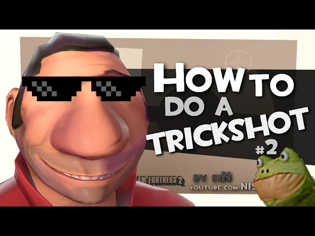 TF2: How to do a Trickshot #2 [MLG]