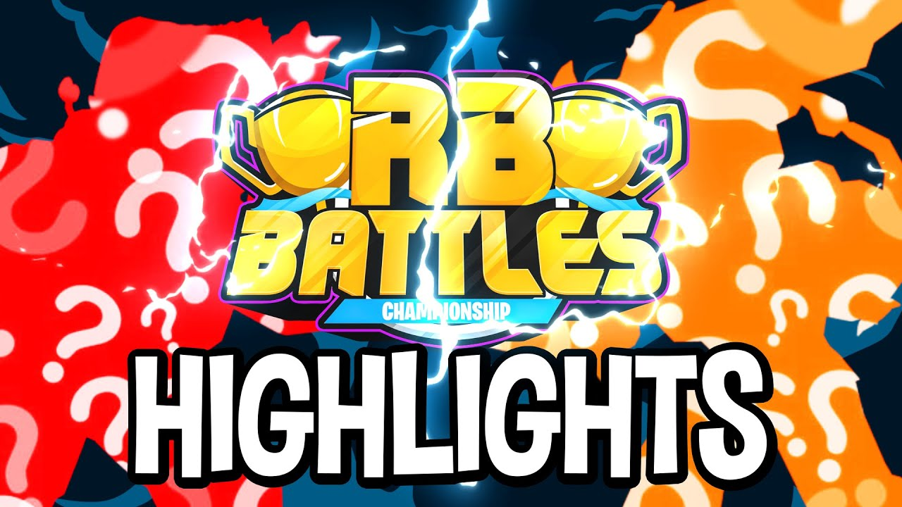 RB Battles Championship First Round Highlights & Funny Moments (Roblox)