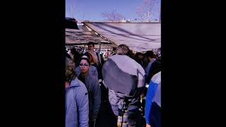 Mid/Side Recording Marché Place de Joinville Paris 19