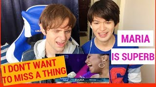 Maria I Don't Want To Miss A Thing Reaction (Indonesian Idol Spekta Show Top 4)