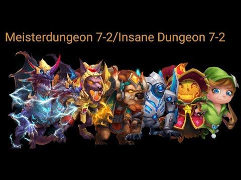 Meister Dungeon 7-2/Insane Dungeon 7-2 [79] Schloss Konflikt/ Castle Clash