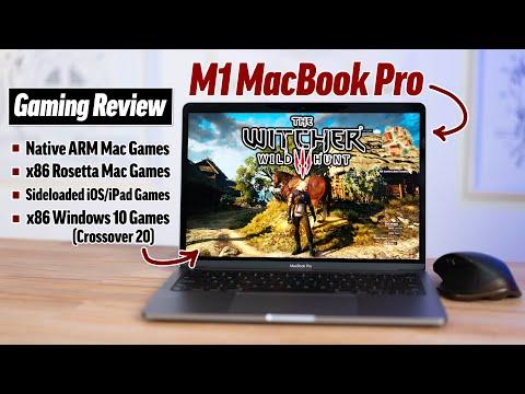 M1 MacBook Pro ULTIMATE Gaming Review: AAA Mac Gaming? 🤯