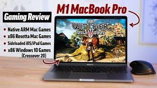 M1 MacBook Pro ULTIMATE Gaming Review: AAA Mac Gaming? 🤯 screenshot 3