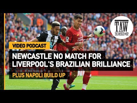 Newcastle No Match For rpool&39;s Brazilian Brilliance  Free Podcast