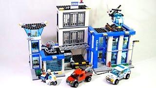 Полицейский участок.Лего Сити.Обучающие  и развивающие видео сборки из конструктора Лего.