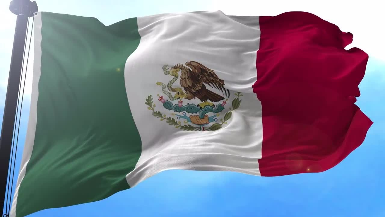 mexico flag animation motion graphics youtube