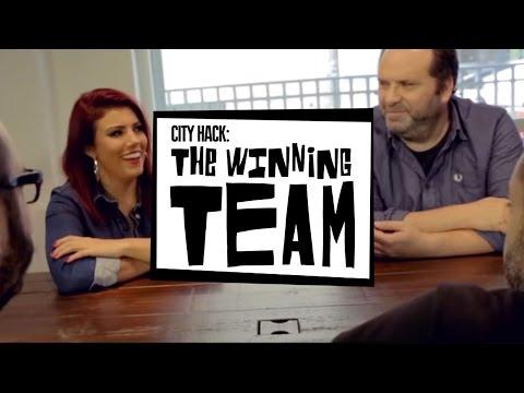 The Winning Team! - City Hack from UKF & Desperados