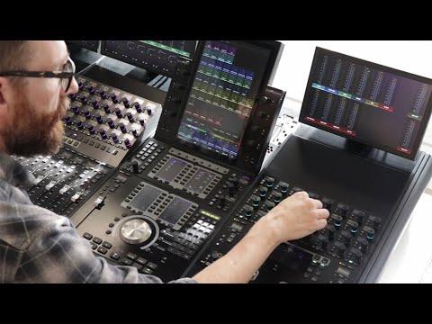 Avid S4 — World-Class Mixing For Smaller Studios, The Avid S4.