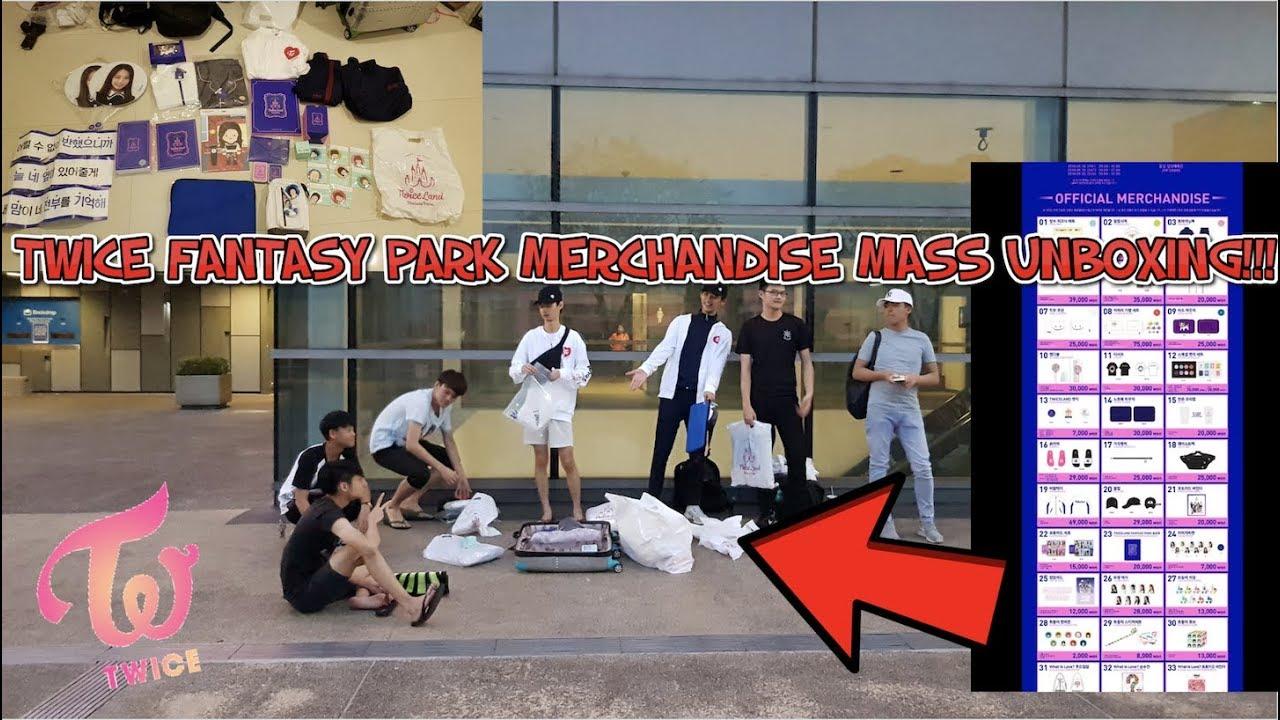 트와이스 TWICE Twiceland Zone 2 Fantasy Park Merchandise MASS UNBOXING!!!