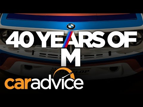 BMW M history - a quick look at 40 years of ///M