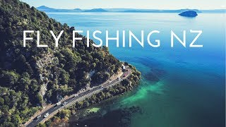 Fly Fishing New Zealand Trout, with SUBSCRIBERS!!
