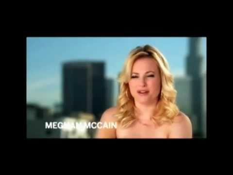 Meghan Mccain Disgusts Glenn Beck W Nude Psa Youtube
