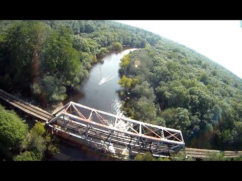Mokai™ Jet Boat Exploring Satilla River - Aerial Video by Stealth2o Quadcopter