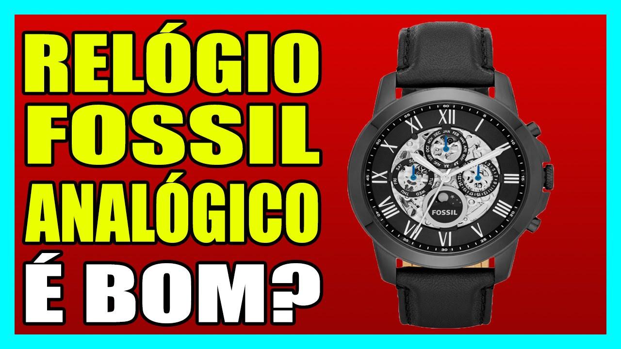 12784940c9e4d RELÓGIO FOSSIL ANALÓGICO - Relógio, Fossil, Analógico - YouTube