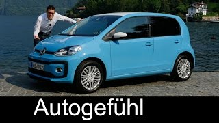 VW Volkswagen up! FULL REVIEW test driven beats/move new Facelift neu 2016/2017