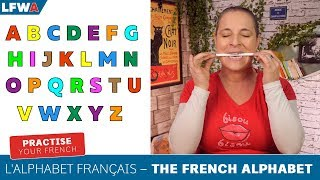 Practise your French alphabet