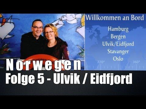 AIDA AIDAluna Norwegens Fjorde - Folge 5: Ulvik / Eidfjord Teil 1 - Nordeuropa 7
