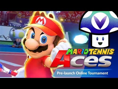 [Vinesauce] Vinny - Mario Tennis Aces: Pre-launch Online Tournament