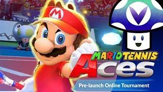 [Vinesauce] Vinny - Mario Tennis Aces: Online Tournament Demo