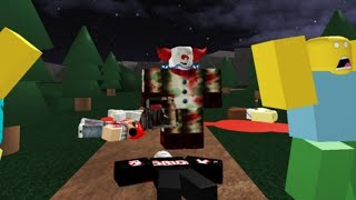 Dude jukes a clown (Good days of roblox)