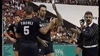 PALLAVOLO ATLANTA 1996 QUARTI DI FINALE ITALIA ARGENTINA 3 1