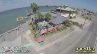 Tequila Sunset Clubs on South Padre Aerial Video Inertia Tours