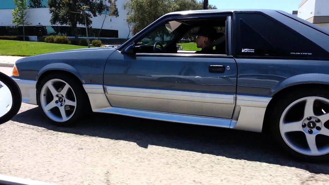 88 Mustang 5.0 >> 03 Mustang mark 8 vs 88 306 foxbody 5.0 - YouTube