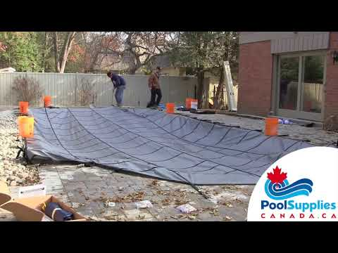 How A Safety Cover Is Installed - Pool Supplies Canada
