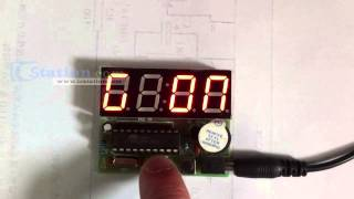 C51 Electronic Clock Diy Kits 4 Bits