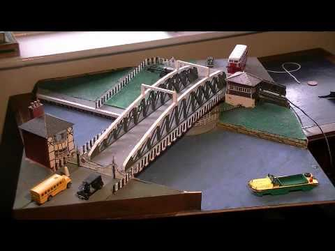 Working Model Of Northwich Town Swing Bridge Youtube