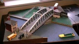 Working Model Of Northwich Town Swing Bridge