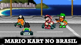 E se Mario Kart fosse no Brasil?