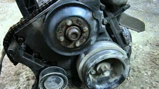 BMW 316i - разборка и дефектовка двигателя M43B16.