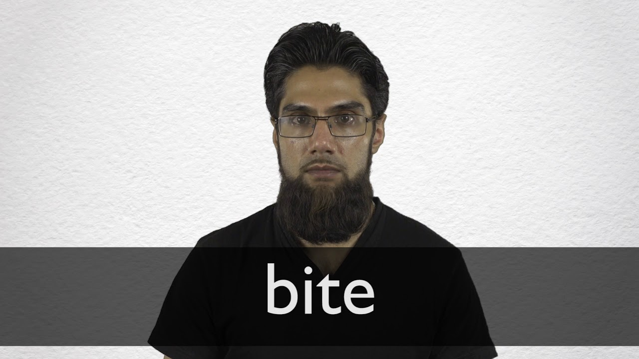 How to pronounce BITE in British English