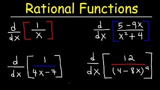 Derivatives of Rational Functions