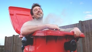 I Turned a Dustbin into a Hot Tub (Budget Trash Can Jacuzzi Challenge)
