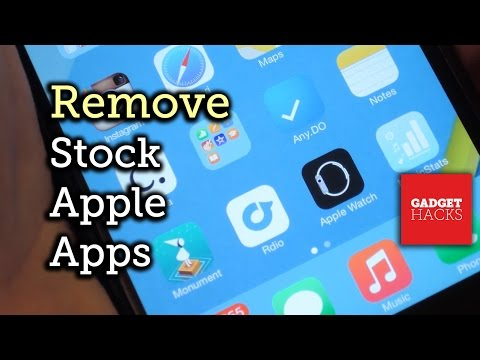 Remove Stock Apple Apps from Your iPhone's Home Screen - iOS 8 [How-To]